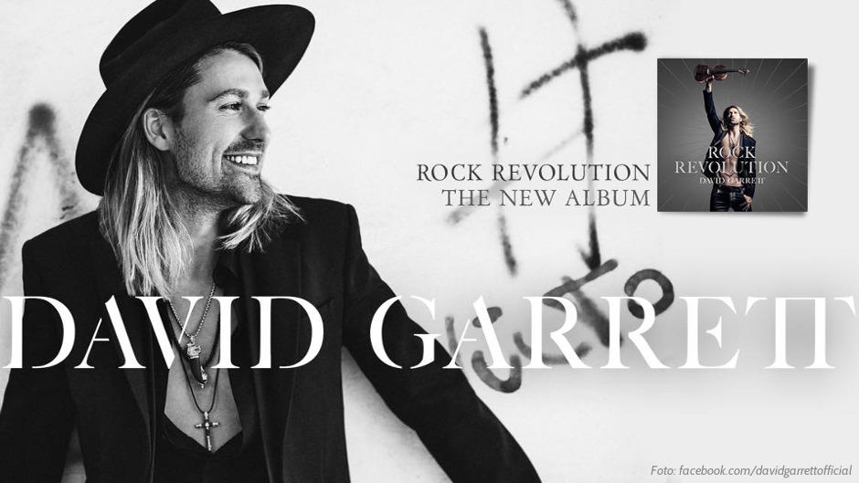 David Garrett kündigt neues Album
