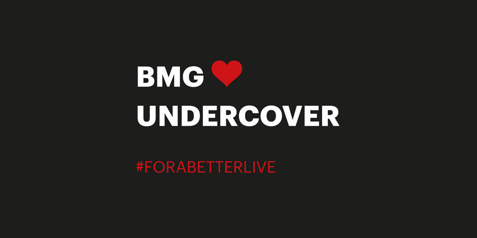 BMG x undercover