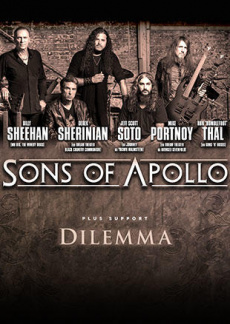 Sons of Apollo | myticket.de
